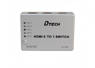 SWITCH HDMI 5-1 DTECH (DT - 7021)